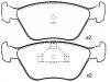 Brake Pad Set:V89BB-2K021-AC
